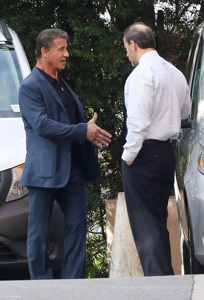 """""""Üdvözlöm, Stallone vagyok"""