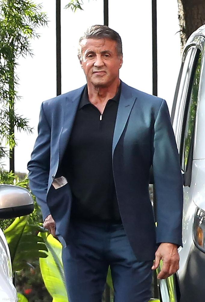 Sylvester Stallone láthatta nemrég azt a galériánkat, amelyben a férfias férfiak közlekedési módjairól értekeztünk, és a tettek mezejére lépett.