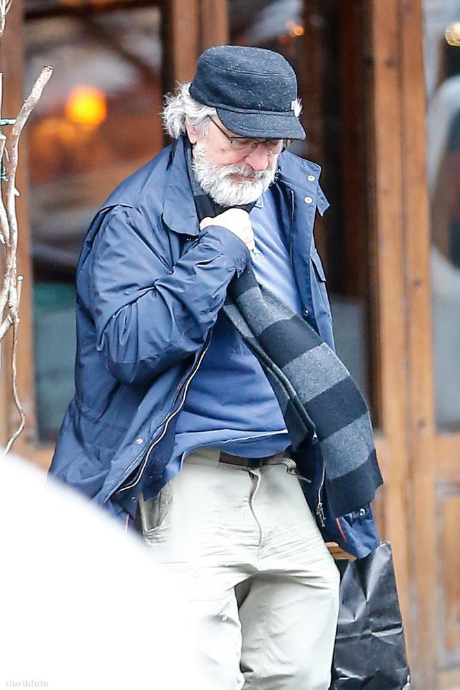 A színész idén 73 éves lesz, szóval ezek a külső jegyek nem meglepők