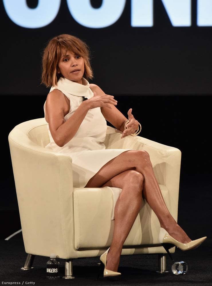 A színésznő kedden egy kaliforniai konferencián vett részt, ahol az Oscar sokszínűsége volt a téma
