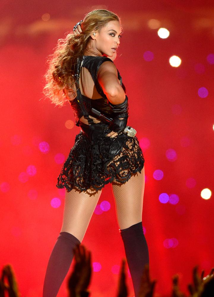 Hiszen Beyoncé a legtöbbször fotógén, szép, beállított, minden, ami kell