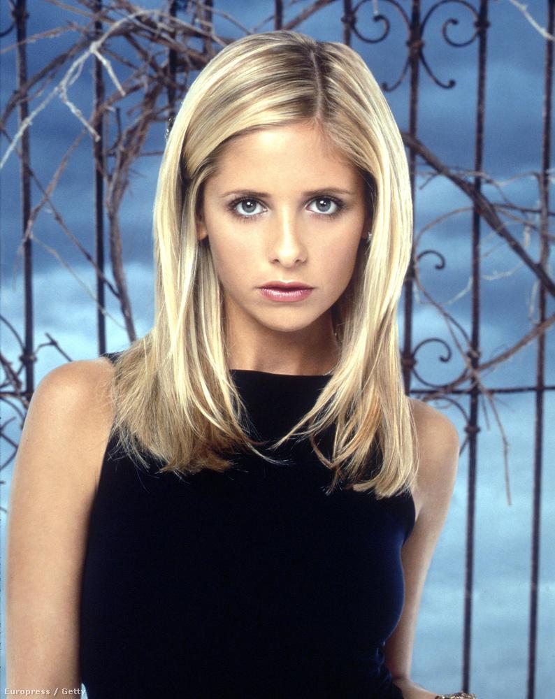 Tudja, ő volt Buffy, a vámpírok réme