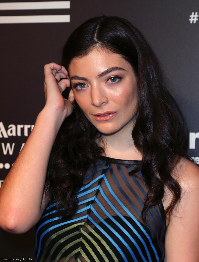 Lorde bőre nem tökéletes