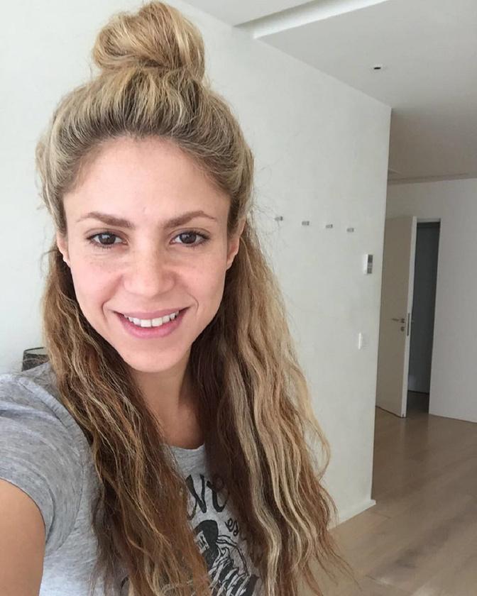 A heti mellek előtt jöjjön a sminktelen Shakira
