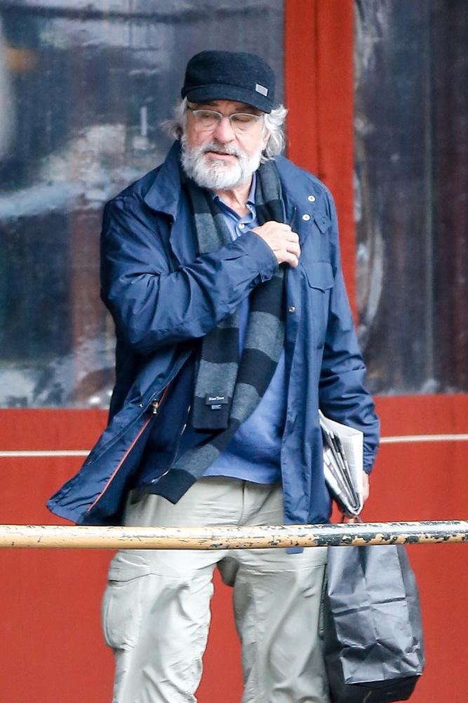 Robert De Niro meg egy télapó