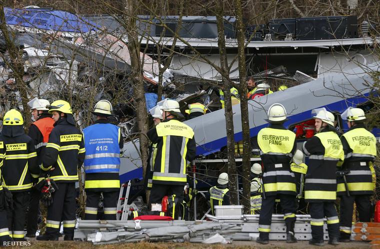 Ezek az első képek a baleset helyszínéről