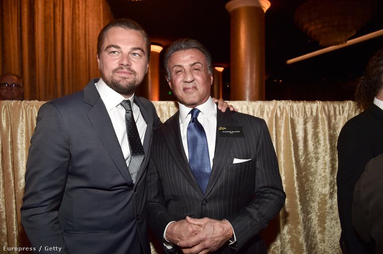 Dolgavégeztével DiCaprio még barátkozott egy kicsit, aztán lelépett a buliból