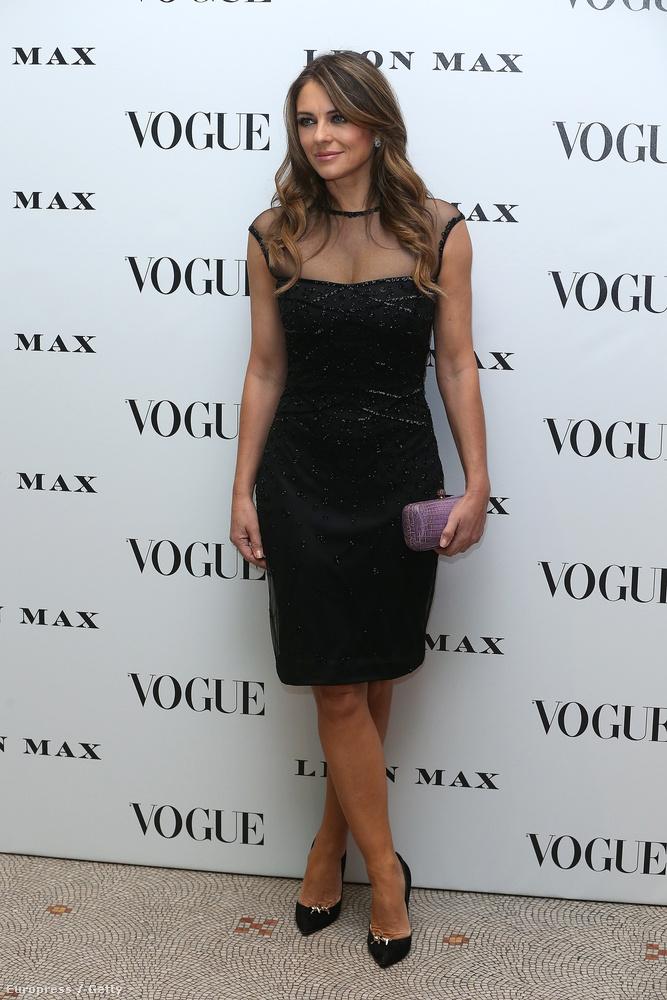 Február 9-én, Londonban, a Vogue első brit kiadásának századik évfordulójára adtak egy celebpartit