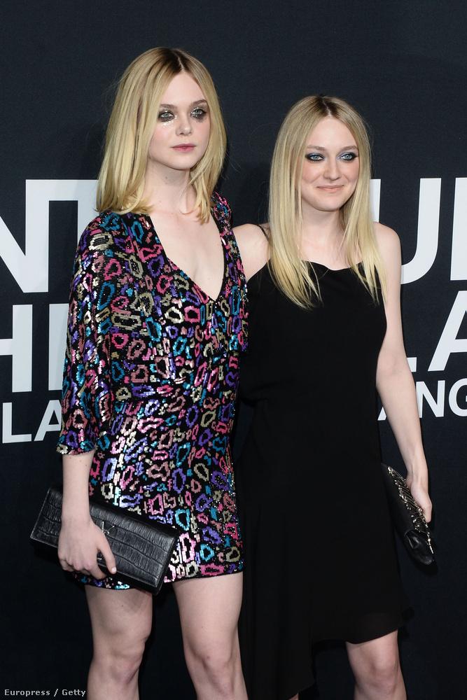 Kiderült, hogy Elle Fanning sokkal magasabb nővérénél, Dakota Fanningnél