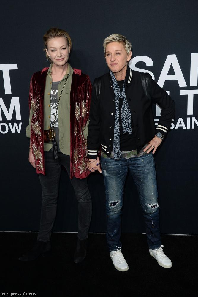 Ellen DeGeneres és Portia de Rossi pedig még mindig csodásan mutatnak együtt