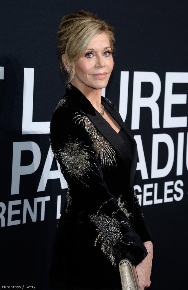 Jane Fonda is ugyanolyan szép volt, mint mindig