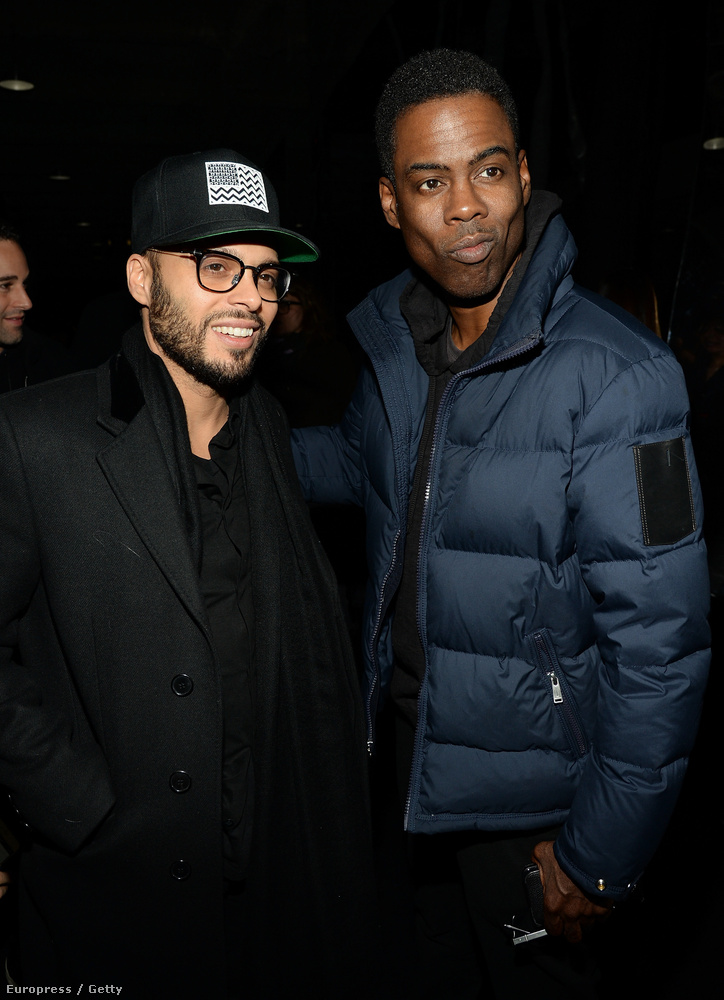 Chris Rock, az idei Oscar-gála házigazdája is megtekintette a show-t.