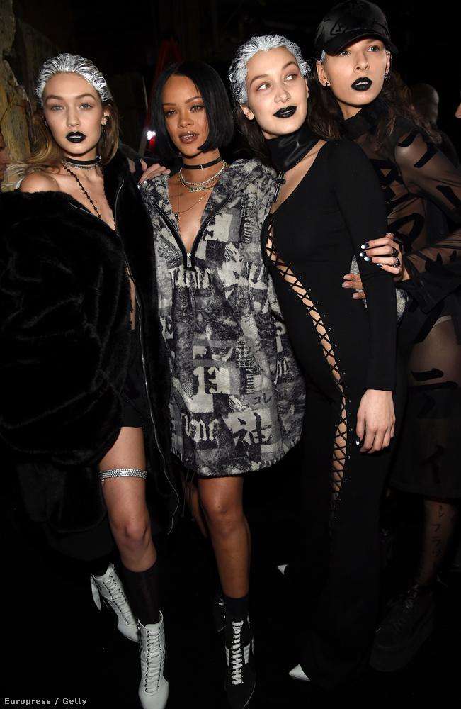 Kanye West fergeteges divatshow-ja után Rihanna is megmutatta, milyen kollekciót sikerült összehoznia a Pumával.