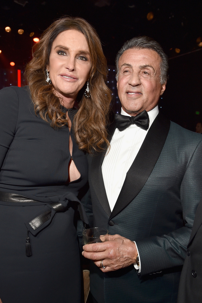 Stallone láthatóan nagyon jól elvolt a Grammy előestéjén