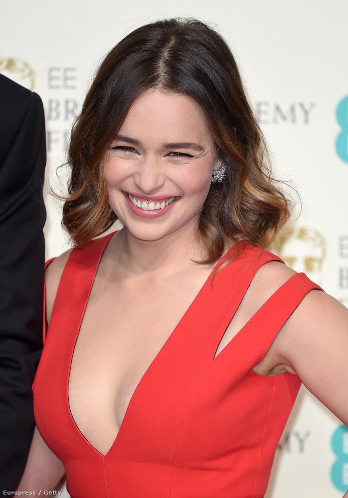 Most viszont a BAFTA Awardson, az angolok Oscarján így jelent meg
