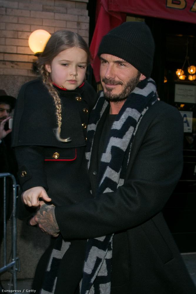 David Beckham Victoria Beckham divatbemutatója miatt utazott New Yorkba