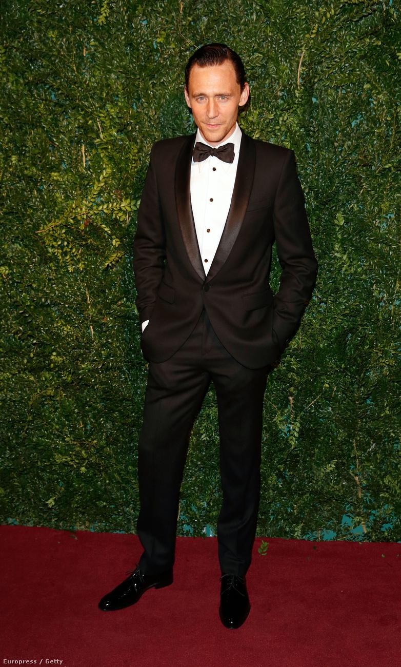 Tom HiddlestonEgyértelműen itt a helye