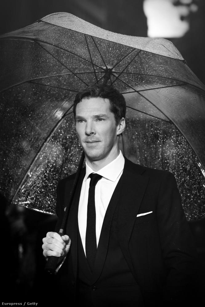 Benedict CumberbatchHa Sherlocknak jó, akkor James Bondnak miért ne lenne?!