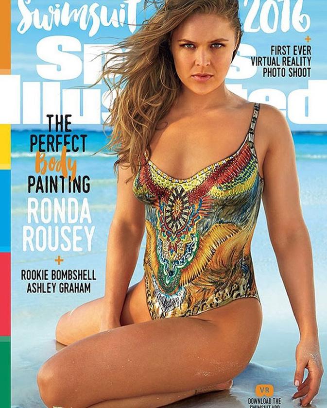 Ronda Rousey testfestése nagy meglepetést okozott, a sportos, kemény nők táborát erősíti
