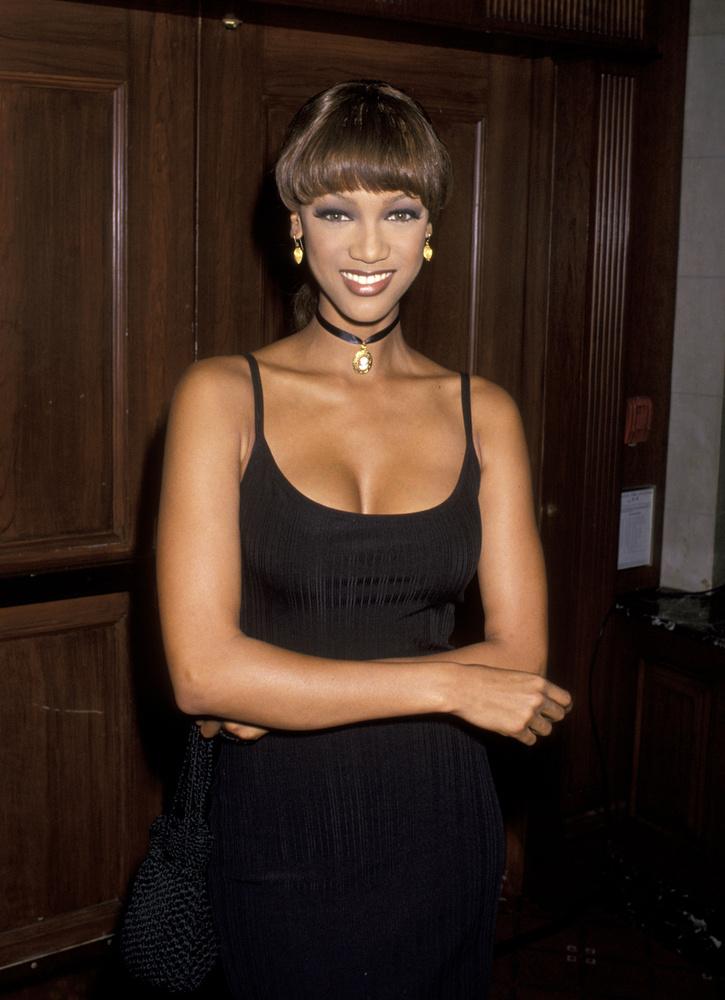 Tyra Banks sem maradt ki