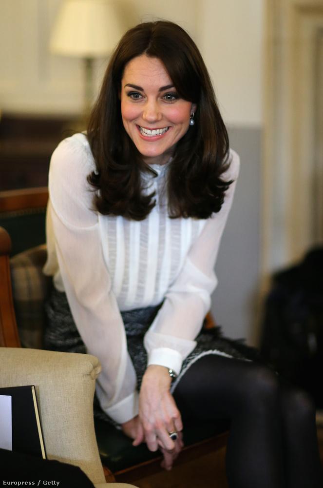 A 34 éves hercegnének nem ez az egyetlen akciója: a következő hetekben sok elfoglaltsága lesz, amelyeken a gyerekek lelki egészsége érdekében emel szót