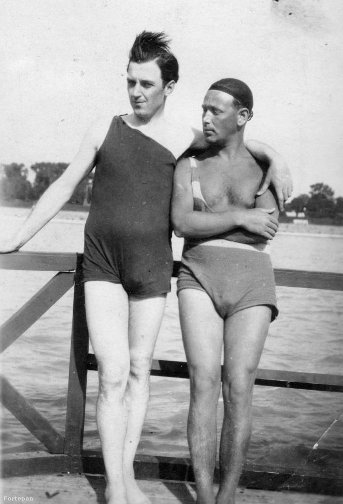 1929-ben az Újlaki rakparton a Sajka utcánál lehetett fürödni a Dunában