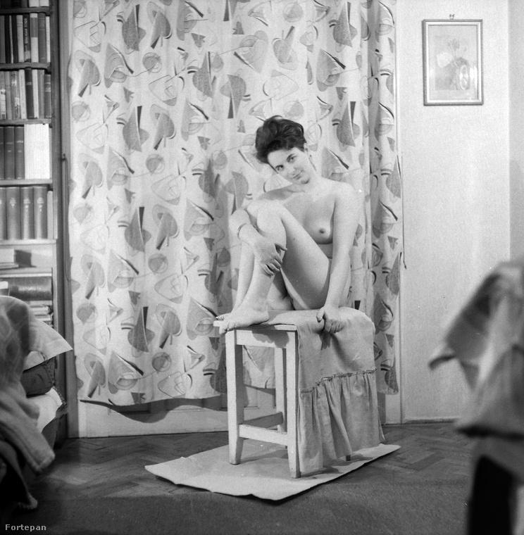 Aktmodell 1959-ből.