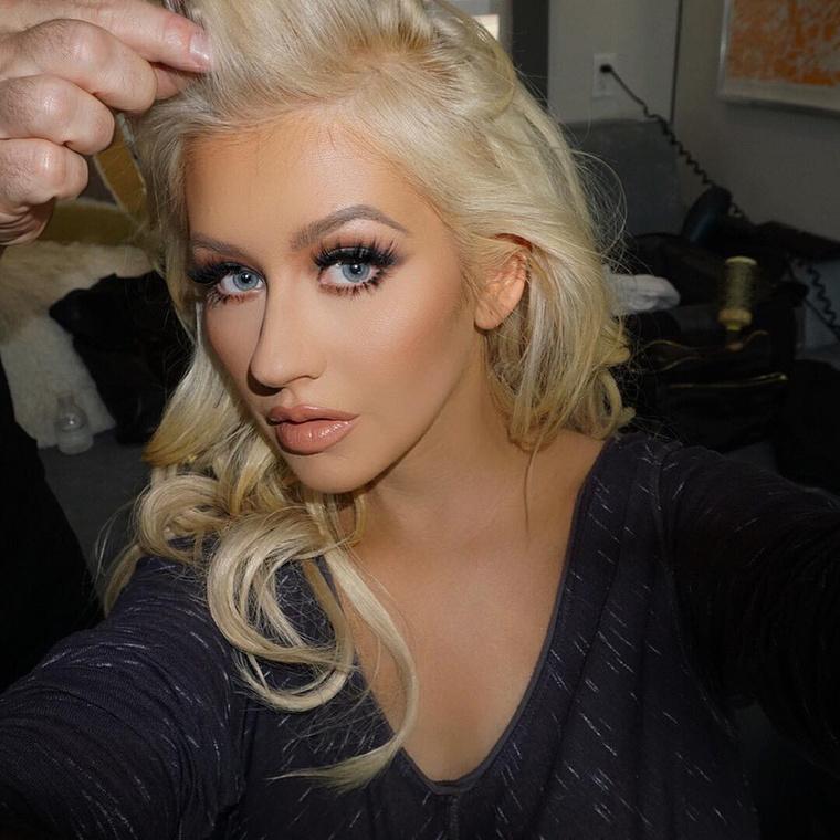 Christina Aguilera volt, önök se ismerték volna meg, ugye?