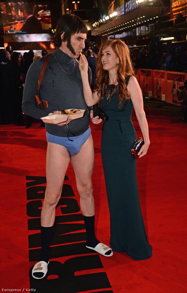 Semmi kétségünk nincs afelől, hogy Sacha Baron Cohent imádja a felesége, Isla Fisher