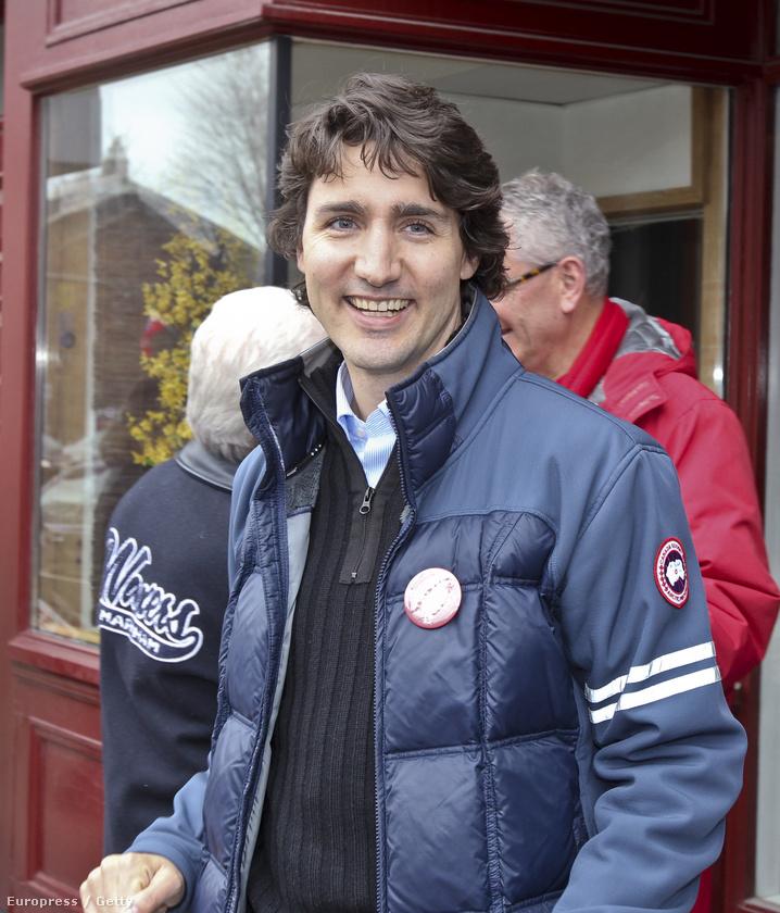 Justin Trudeau nevét igazából akkor ismerte meg a nagyvilág, amikor a fiatal liberális politikus Kanada 23