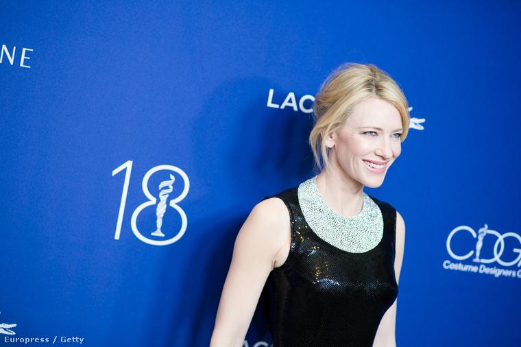 Cate Blanchett február 23-án elment Los Angelesben a jelmeztervező céhének éves díjátadójára, és úgy nézett ki, hogy azt nem hisszük el.