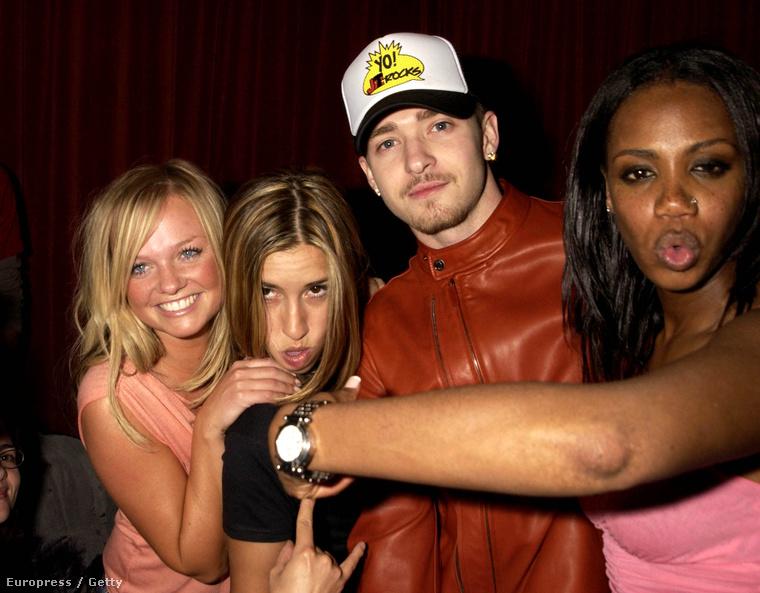 Ennek itt most semmi köze semmihez a sztoriban, de jobb ha tudja, hogy létezik egy ilyen kép Melanie Blattről és Shaznay Lewisról Emma Buntonnal és Justin Timberlake-kel, valahonnan a kétezres évek elejéről
