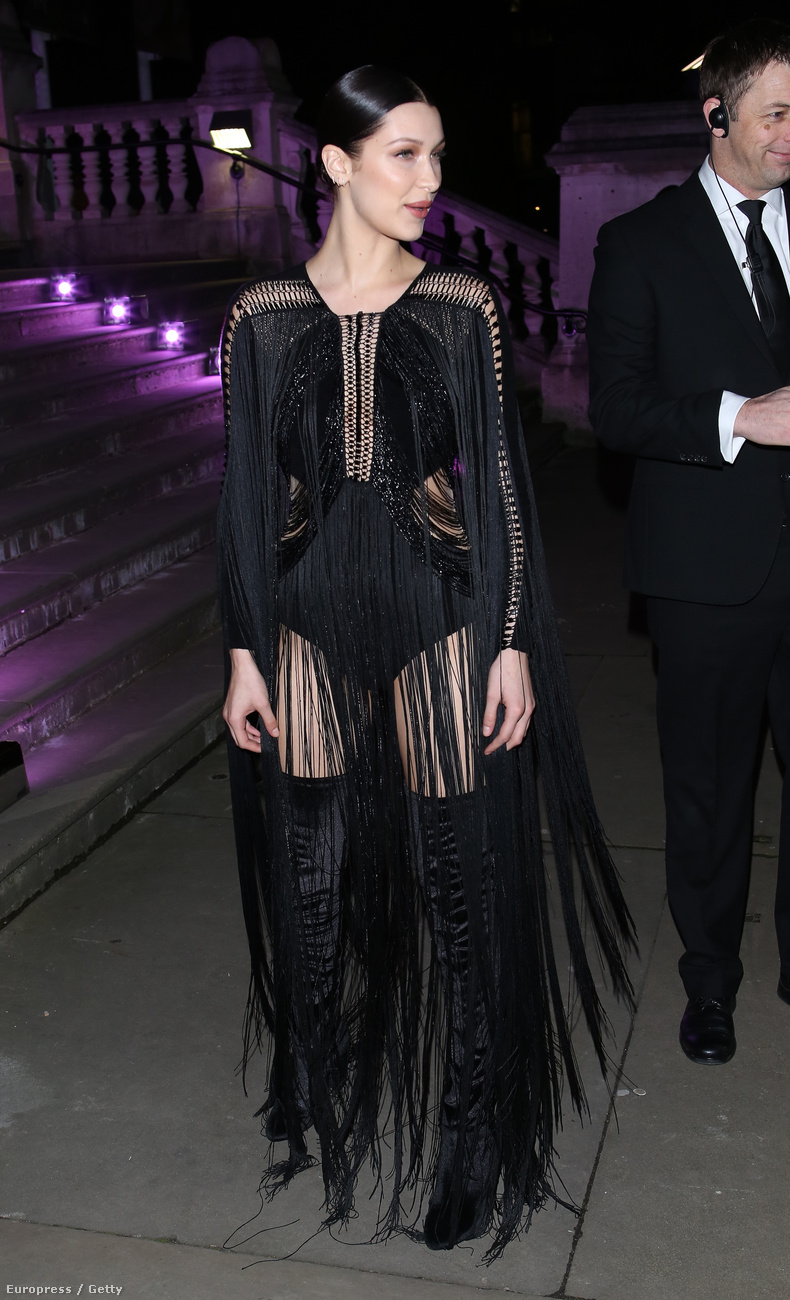 Ő is egy modell, Bella Hadid