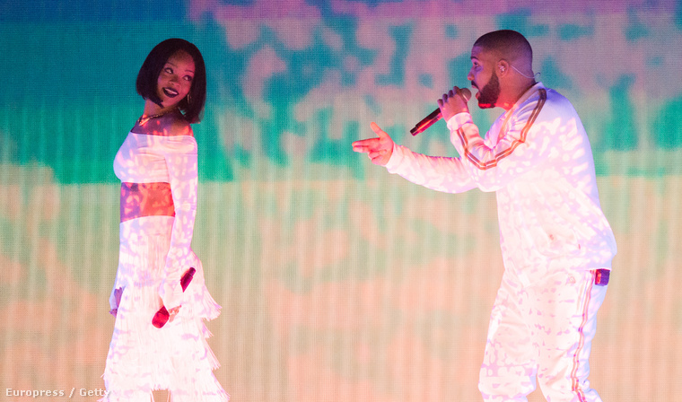 Aztán jött Drake, és a Work előadás közben bekövetkezett az ágyékdörzsi.