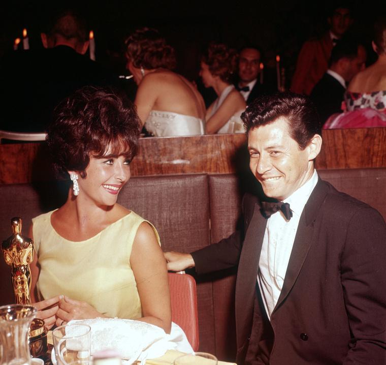 Elizabeth Taylor egy újabb férjjel, Eddie Fischerrel