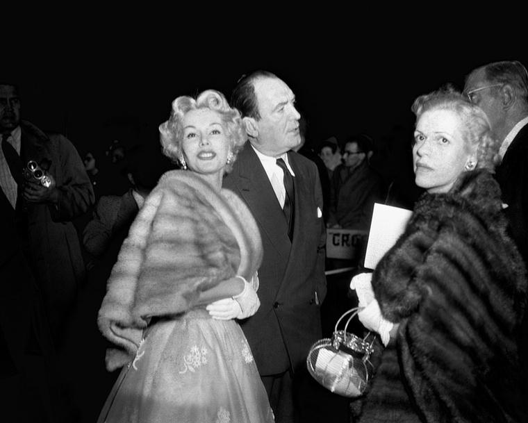 A már 99 éves Gábor Zsazsa és a harmadik férje, George Sanders 1953-ban.