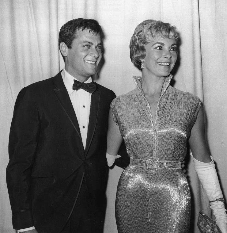 Tony Curtis 1951-ben vette el a színésznő Janet Leigh-t