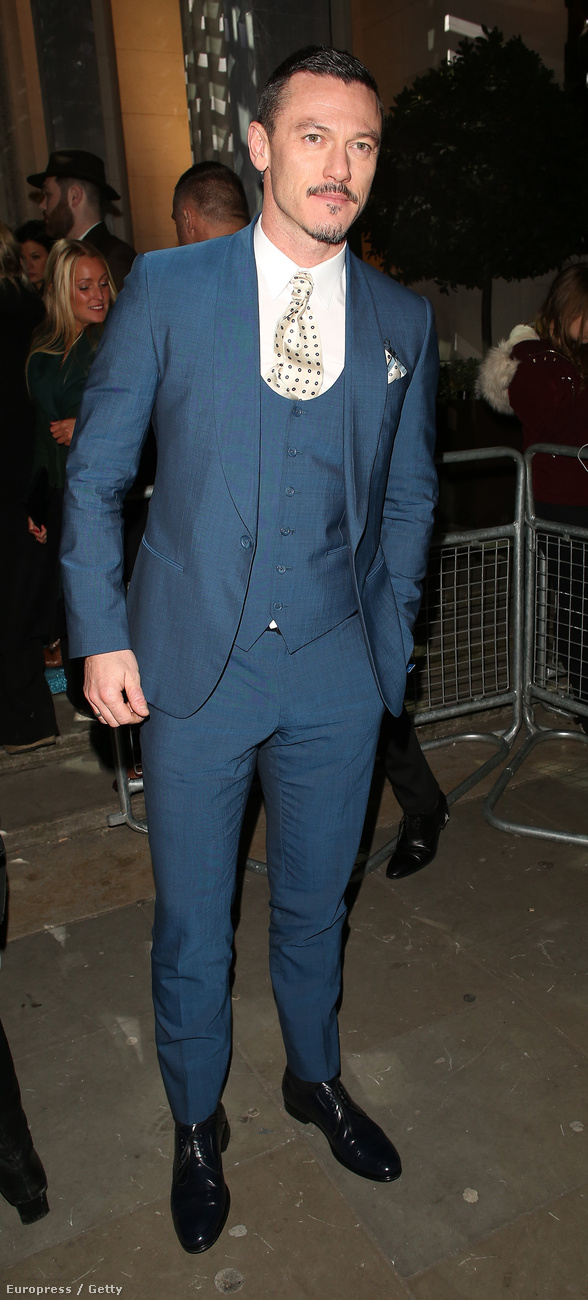 Luke Evans színész olyan, mint aki most jött, nem mint aki most megy.