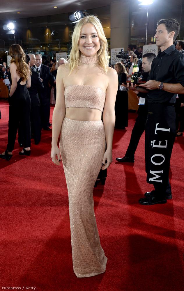 Kate Hudsonnek is a Golden Globe-on sikerült ilyen kifogástalanul fotózkodnia
