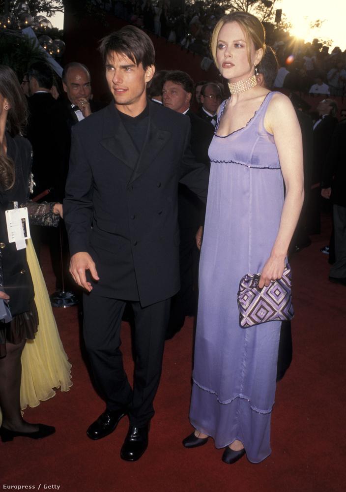 Tom Cruise és Nicole Kidman a kor elegáns párjának számított.