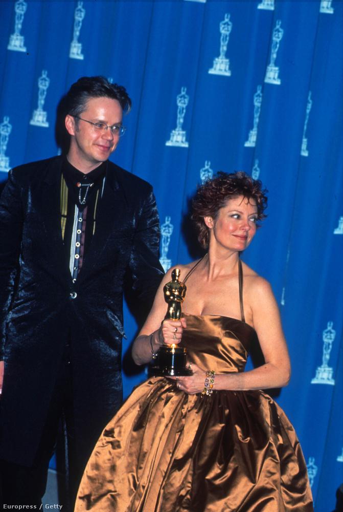 Tim Robbins és Susan Sarandon 23 évig voltak együtt, itt még javában - 2009-ben köszöntek el egymástól