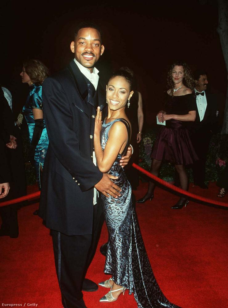 Will Smith és Jada Pinkett-Smith húsz év alatt semmit sem változtak, csak az öltözködésük lett stílusosabb.