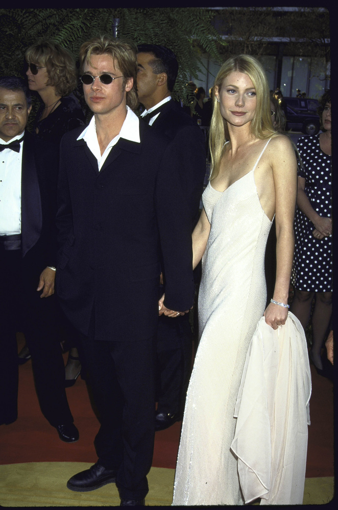 Brad Pitt és Gwyneth Paltrow akkor még együtt voltak,