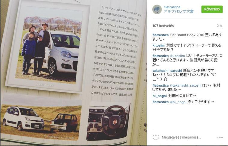 Régi-új Panda összehasonlító egy japán újságban