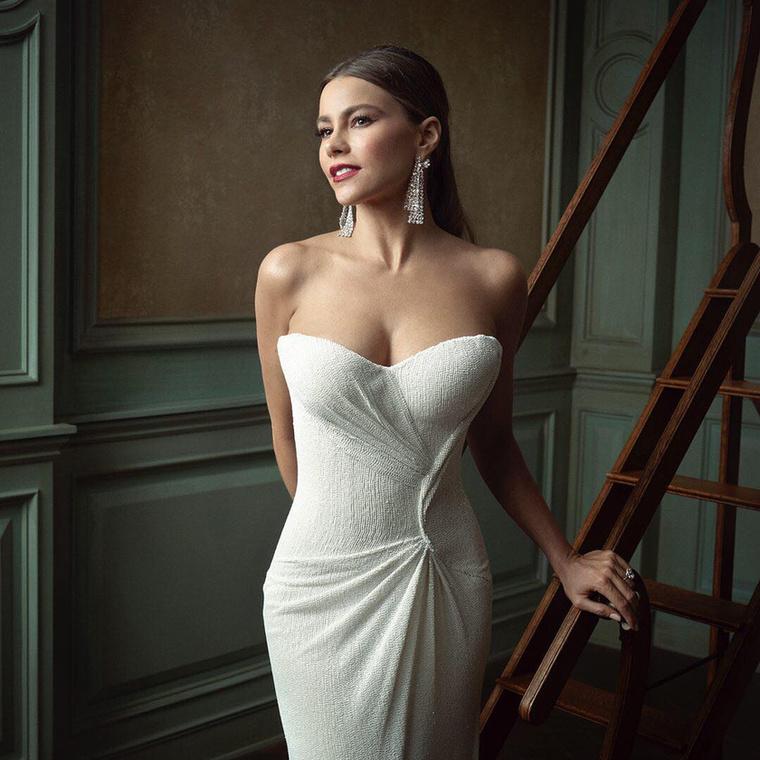 A Vanity Fair bulijában egy csomó jó fotót készített a magazin fotósa, ezt is, Sofía Vergaráról