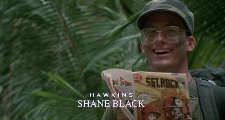 Shane Black így nézett ki az 1987-es Predátorban