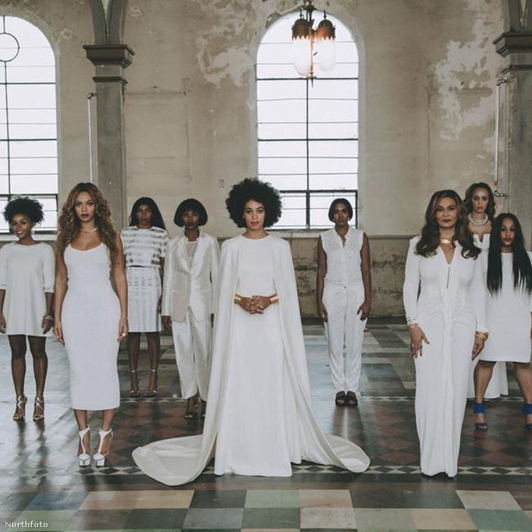 Beyoncé is volt koszorúslány! Hol? Hát természetesen húga, Solange emlékezetes és villantós esküvőjén