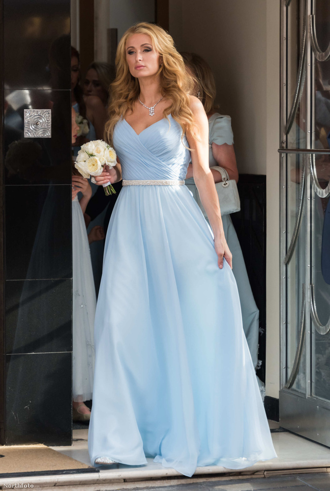Húga, Nicky Hilton esküvőjére, tavaly júliusban!