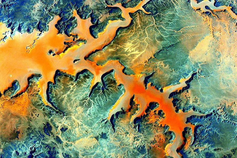 Afrikát láthatja a képen