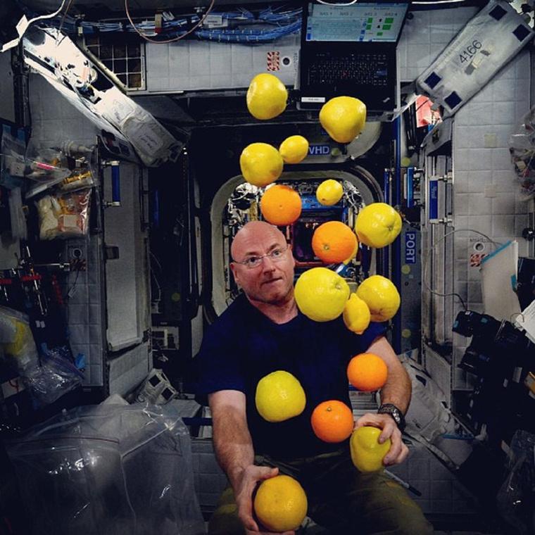 Scott Kelly egy éve azért is jelentős, mert még senki sem töltött ilyen sok időt az űrállomáson